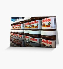 Nutella Nutella Greeting Card
