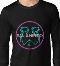 San Junipero Logo Long Sleeve T-Shirt