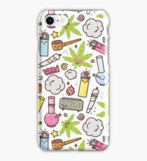 Kawaii marijuana / Cute weed iPhone Case/Skin