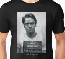 Ted Bundy Serial Killer Mugshot Unisex T-Shirt