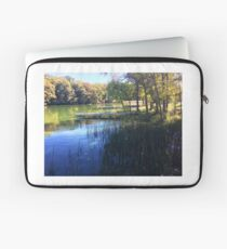 Fall in Rice Lake Wisconsin Laptop Sleeve