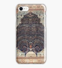 HIPSTER PEACOCK PERSIAN RUG  iPhone Case/Skin