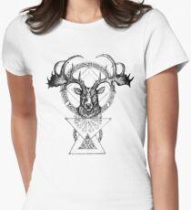The Irish Deer Women's Fitted T-Shirt