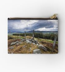 Storm clouds over Speyside Studio Pouch