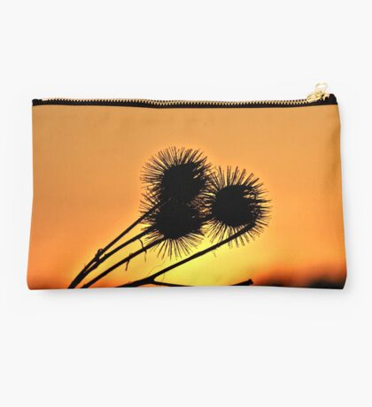 Shadows Flower In Sun Studio Pouch