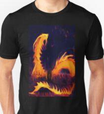 Fire Dragon serpent mythical Fantasy  T-Shirt