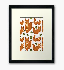 Red Squirrels Framed Print