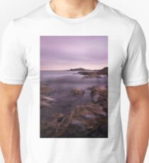 Godrevy Lighthouse 14, Cornwall, UK ~ Atlantic Coast Unisex T-Shirt