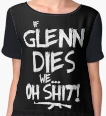 If Glenn dies we... oh shit! - The Walking Dead Chiffon Top