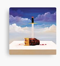 Hello this is a case Canvas Print
