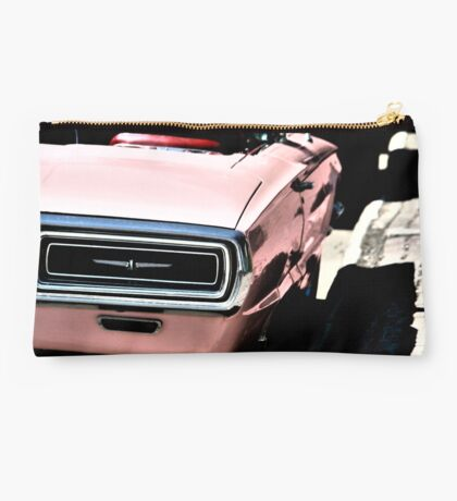 Old Pink T-Bird  Studio Pouch