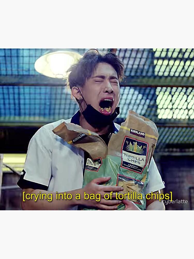 Wonho | Emocionalmente comiendo chips de tortilla de cyberlatte