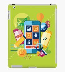 Mobile marketing iPad Case/Skin