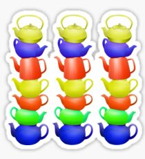Teapot Pattern Sticker