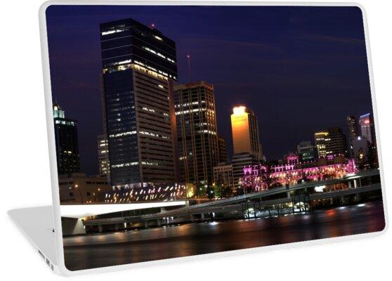 Brisbane By Night by Soren Martensen