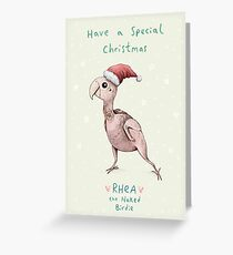 Rhea - Have a Special Christmas Greeting Card