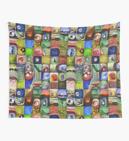 BlackHalt`s Instagram Photos #DeepDreamed Wall Tapestry