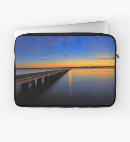 Como Jetty Sunset  Laptop Sleeve