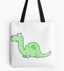 cartoon dinosaur Tote Bag