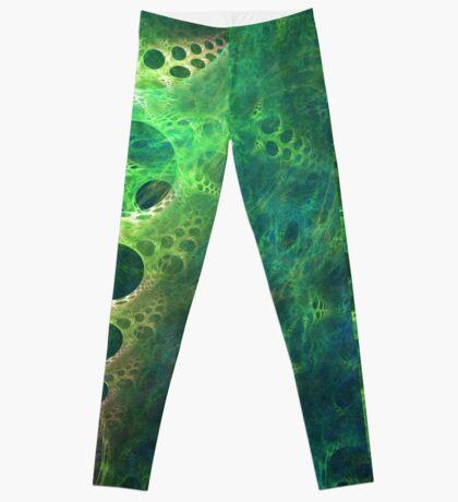 BubbleX #fractal art Leggings
