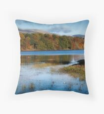 Gartmorn Dam Country Park in Clackmannanshire Throw Pillow