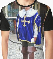Historical Fashion Graphic T-Shirt