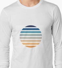 Beach- Sand, Ocean, Sky Color Theme Long Sleeve T-Shirt