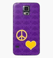 Goldenes Herz Teil 1 Hülle & Klebefolie für Samsung Galaxy