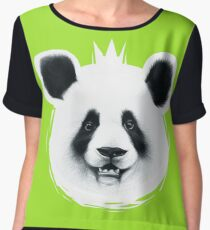 BIG panda Women's Chiffon Top