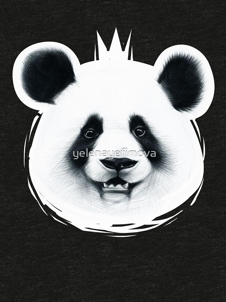 BIG panda by yelenayefimova