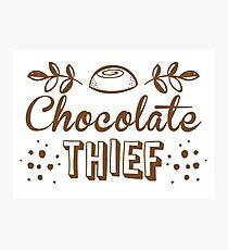 chocolate theif Photographic Print