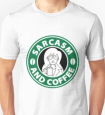 Sarcasm and Coffee T-Shirt