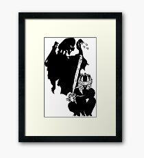 Dementor to Nazgul Framed Print