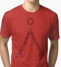 Earth Symbol Tri-blend T-Shirt