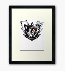 REBEL & CONQUER Framed Print