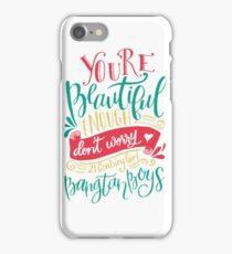 BTS - 21 Century Girl White iPhone Case/Skin