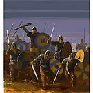 Viking Sunset by David  Kennett