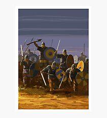 Viking Sunset Photographic Print