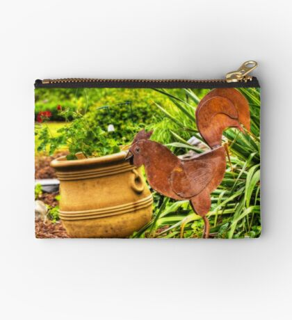 Rooster In The Garden Studio Pouch