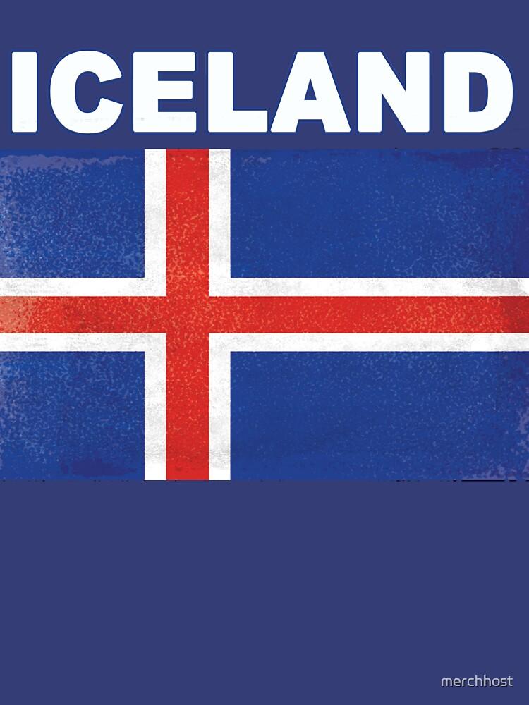 HD Distressed Island Flag Design von merchhost