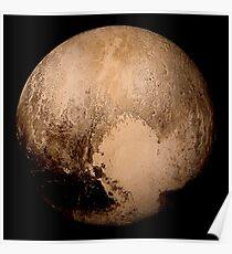 Pluto super high resolution Poster