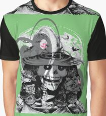 CRAZY GREEN WITCH  Graphic T-Shirt