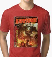 Attack of the Metal Men Tri-blend T-Shirt