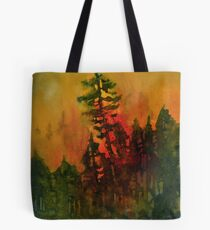 Forest Fire #5 Tote Bag
