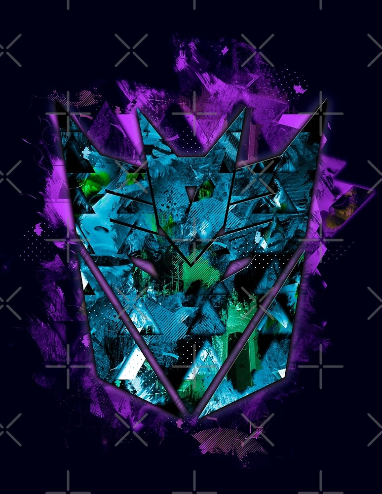 Decepticons Abstractness by DesignLawrence