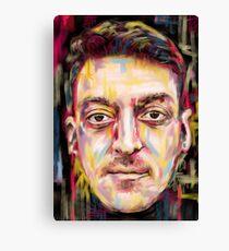 Mesut Ozil - Arsenal Genius Canvas Print