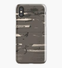 Grey lures iPhone Case/Skin