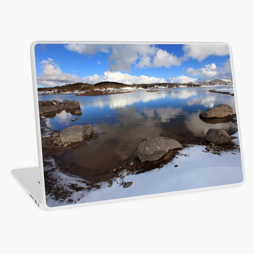 Rocky Valley Pondage, Falls Creek, Australia Laptop Skin