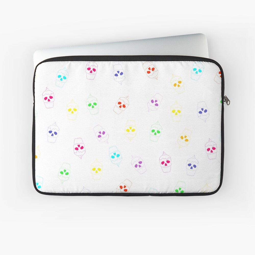 Skull Rainbow Laptop Sleeve