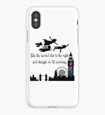 Peter Pan Take The Second Star To The Right iPhone Case